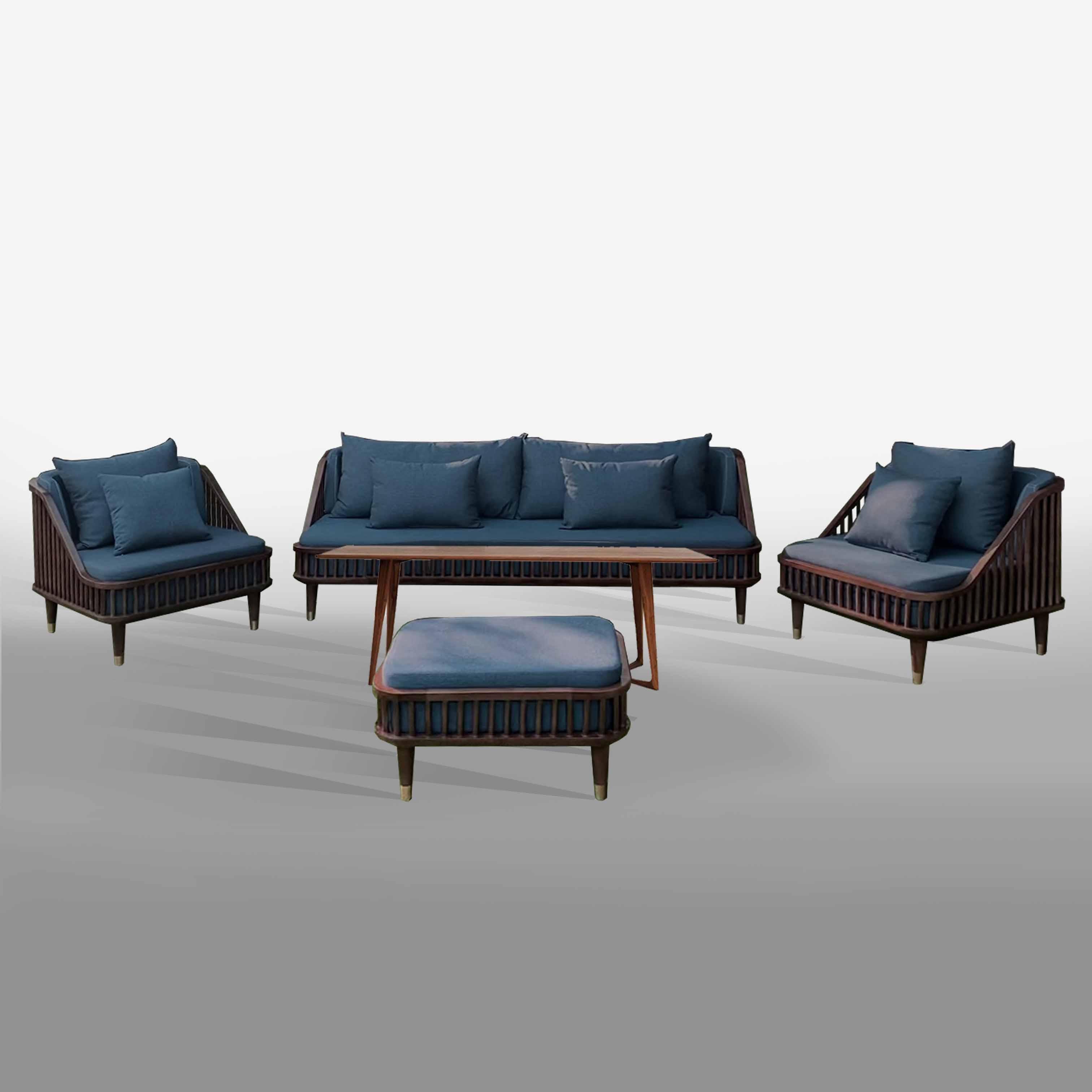 Bộ bàn Twist ghế KBH Dedar - BG8LHFU