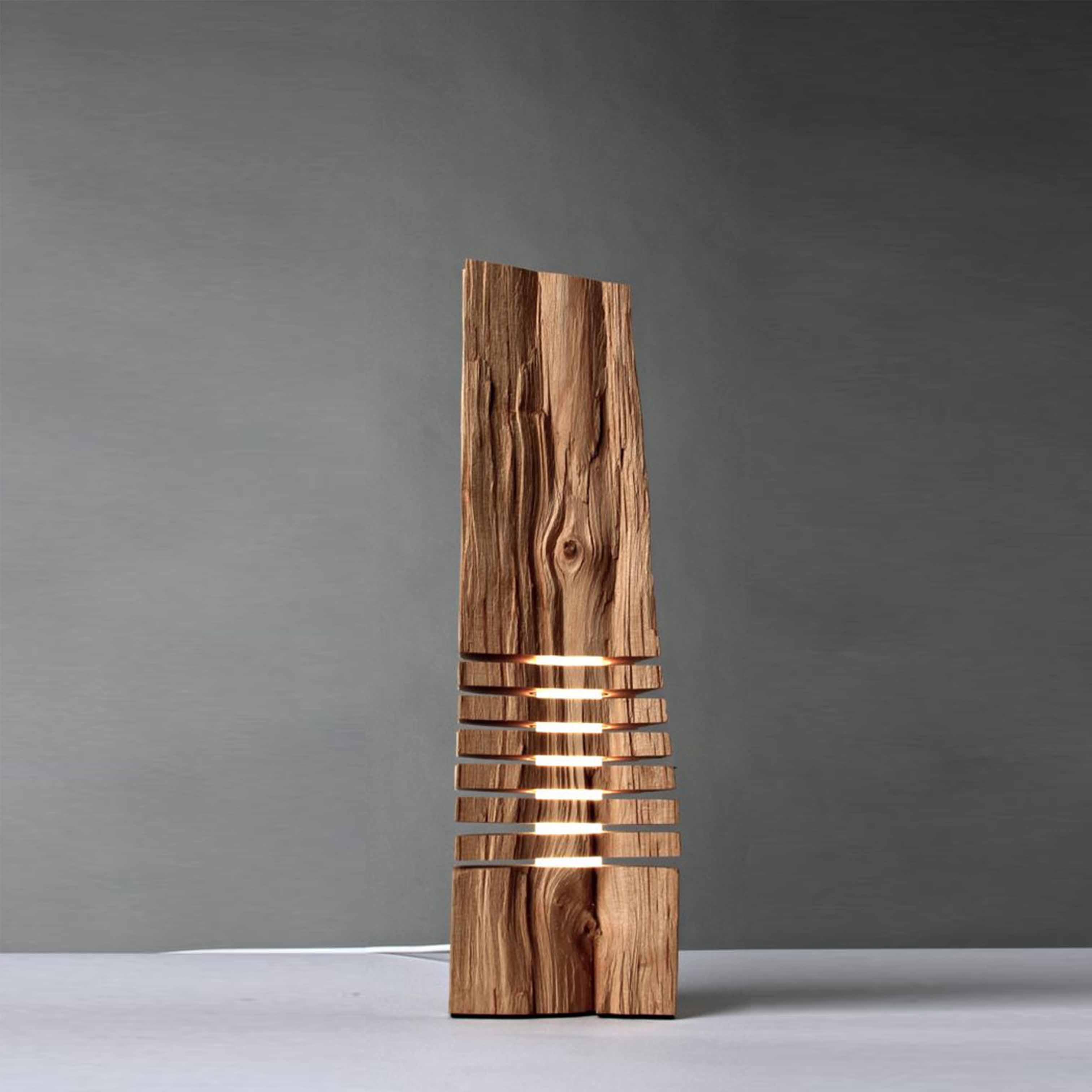 Đèn gỗ trang trí nghệ thuật - D41LHFU