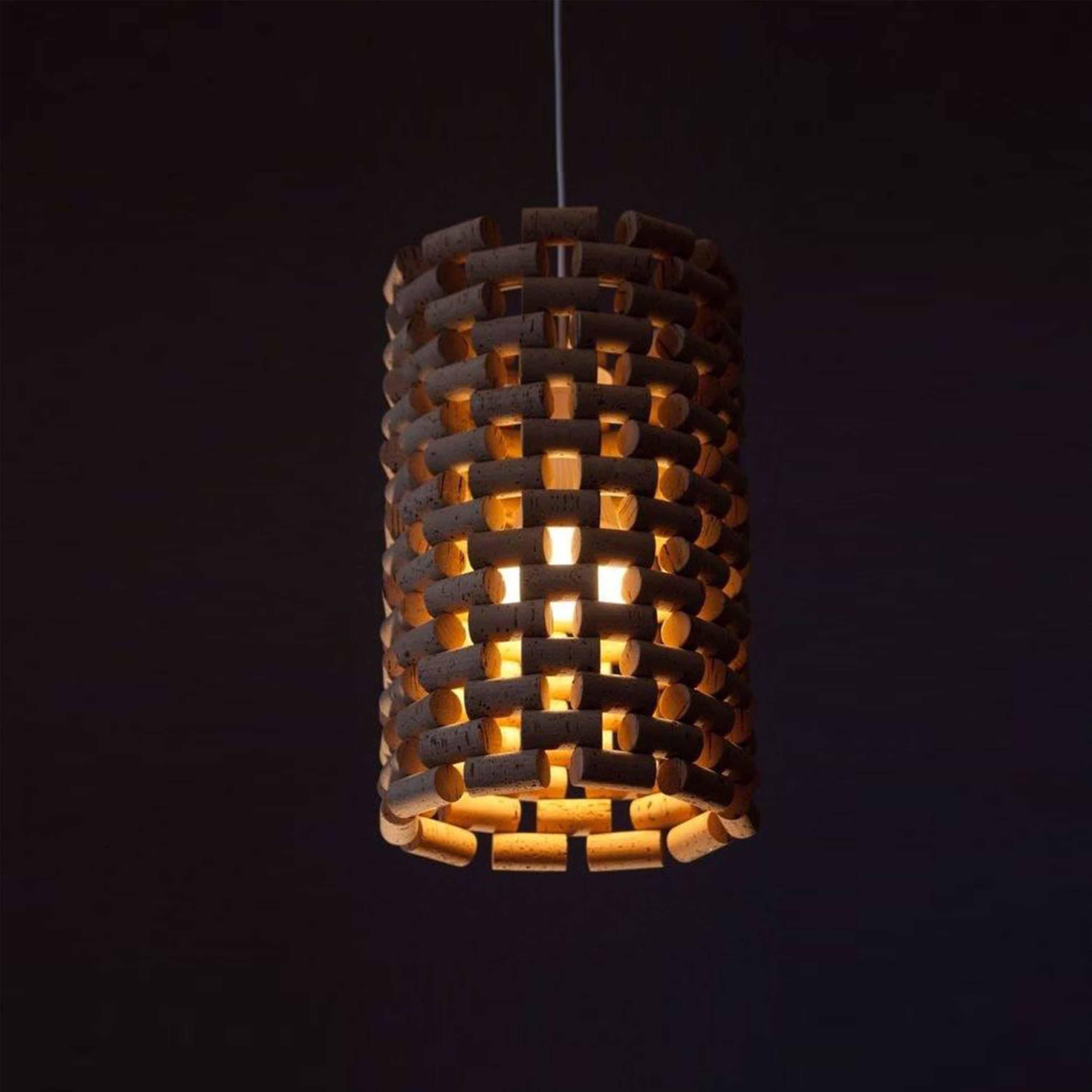 Đèn gỗ trang trí nghệ thuật - D48LHFU