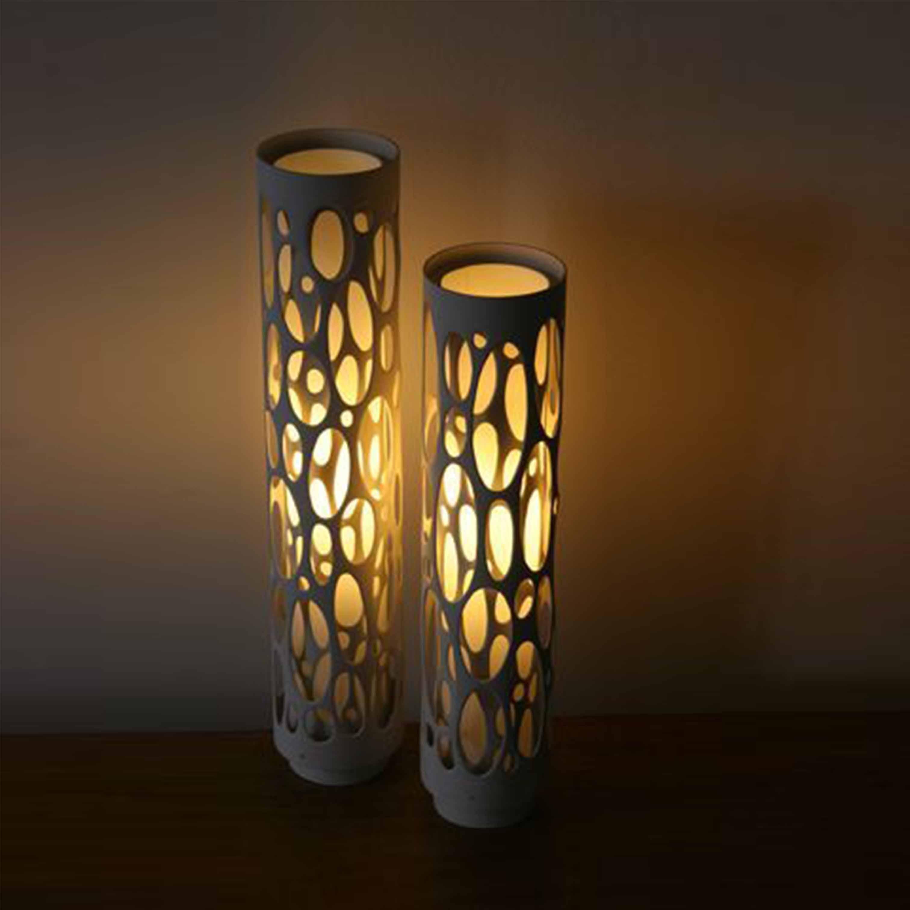 Đèn gỗ trang trí nghệ thuật - D53LHFU