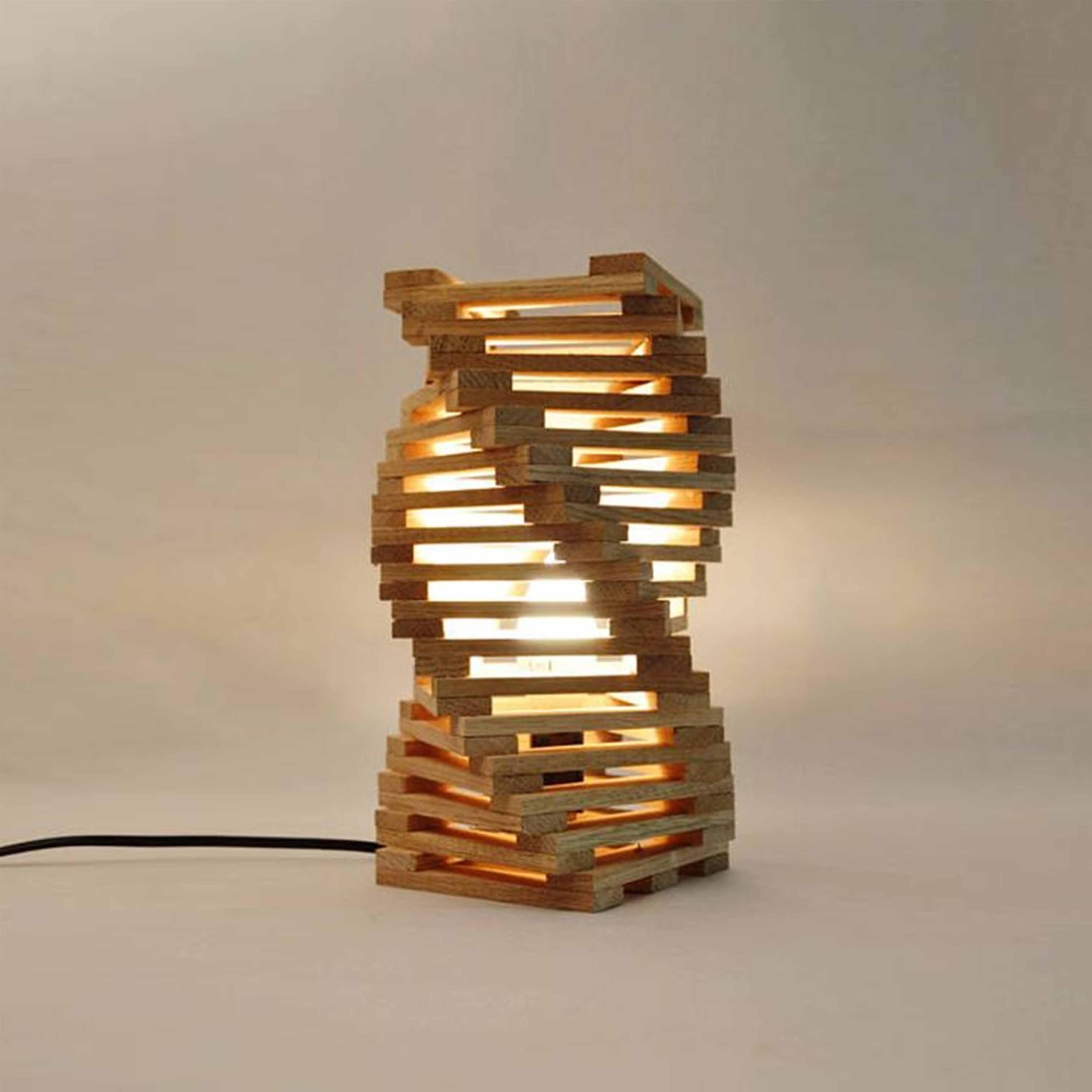 Đèn gỗ trang trí nghệ thuật - D54LHFU