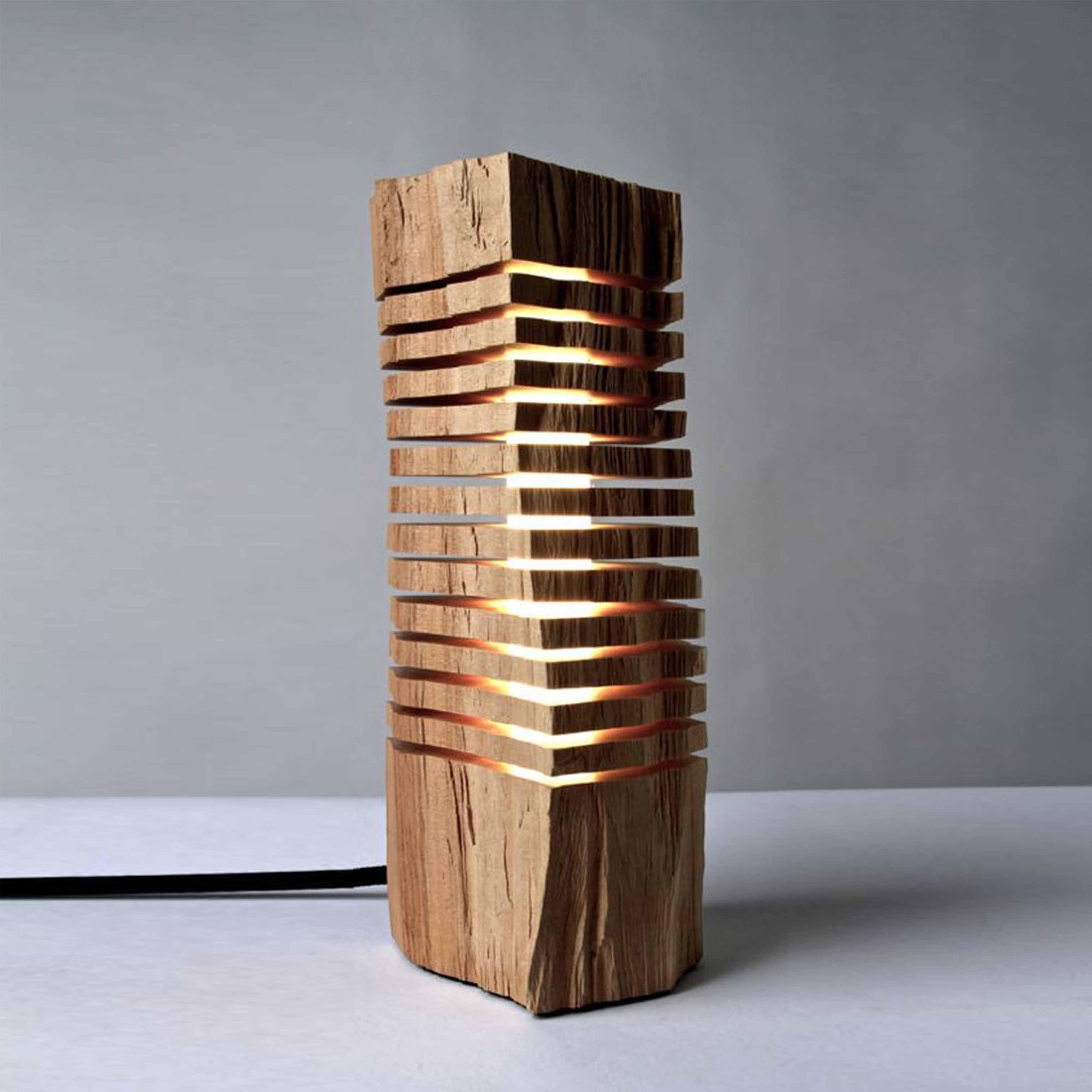 Đèn gỗ trang trí nghệ thuật - D55LHFU