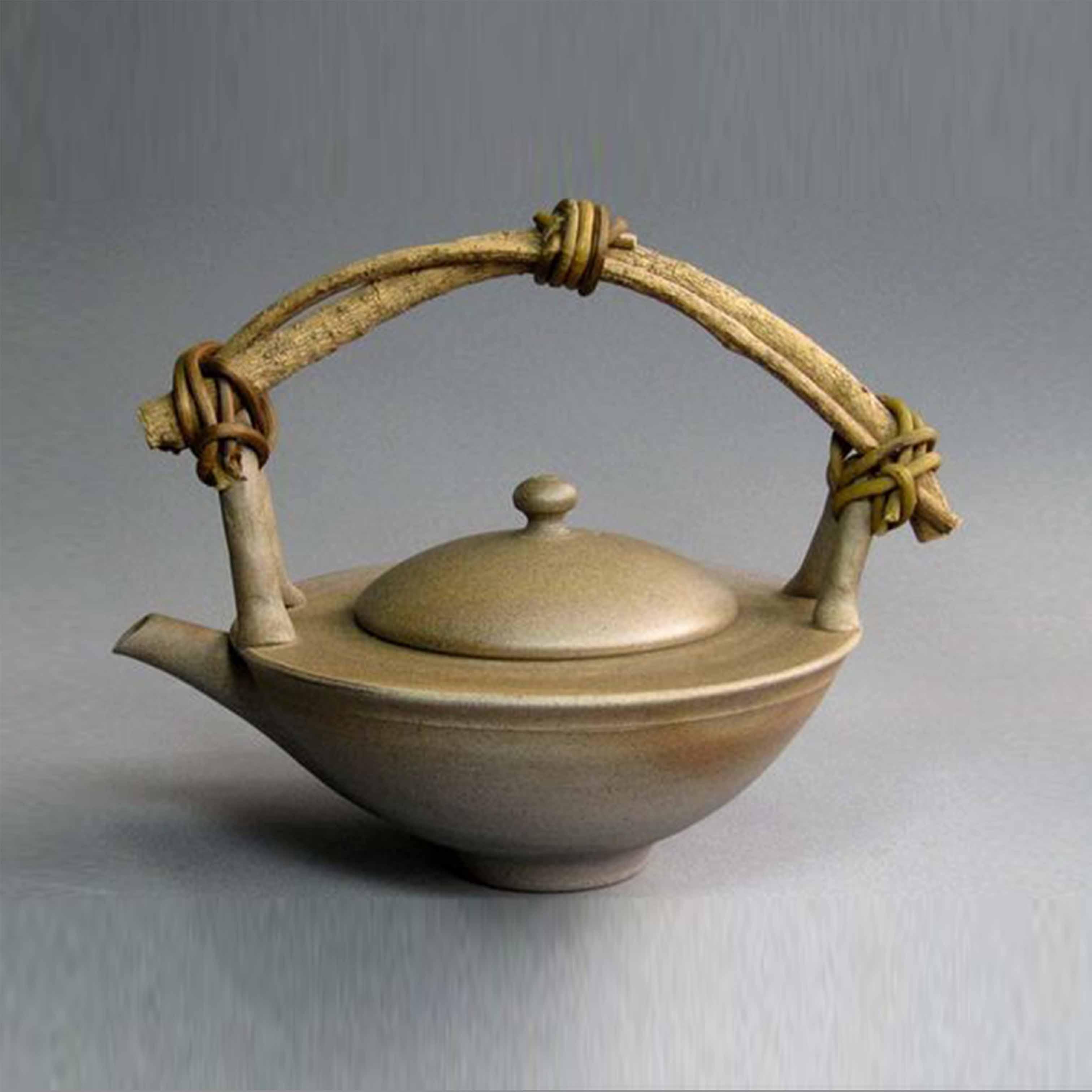 Bình trà gốm sứ trang trí - DTT37LHFU