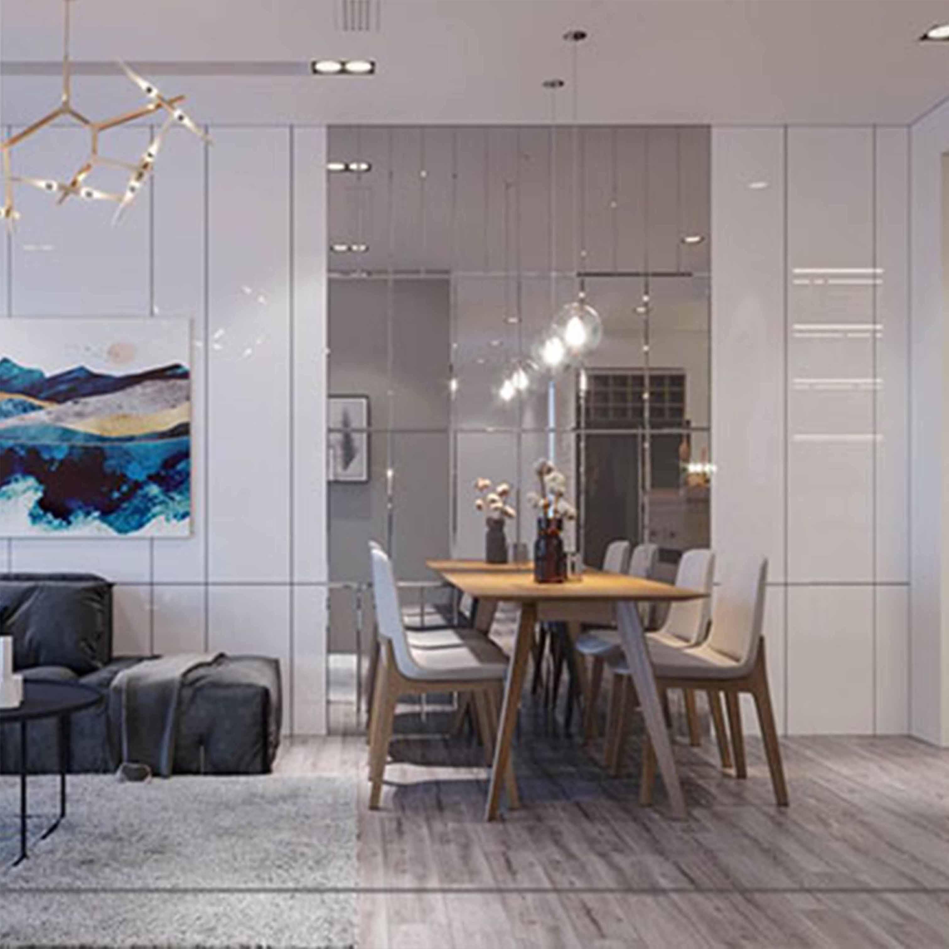 Thiết kế nội thất chung cư cho khách hàng ở Cầu Giấy, Hà Nội - TK16LHFU