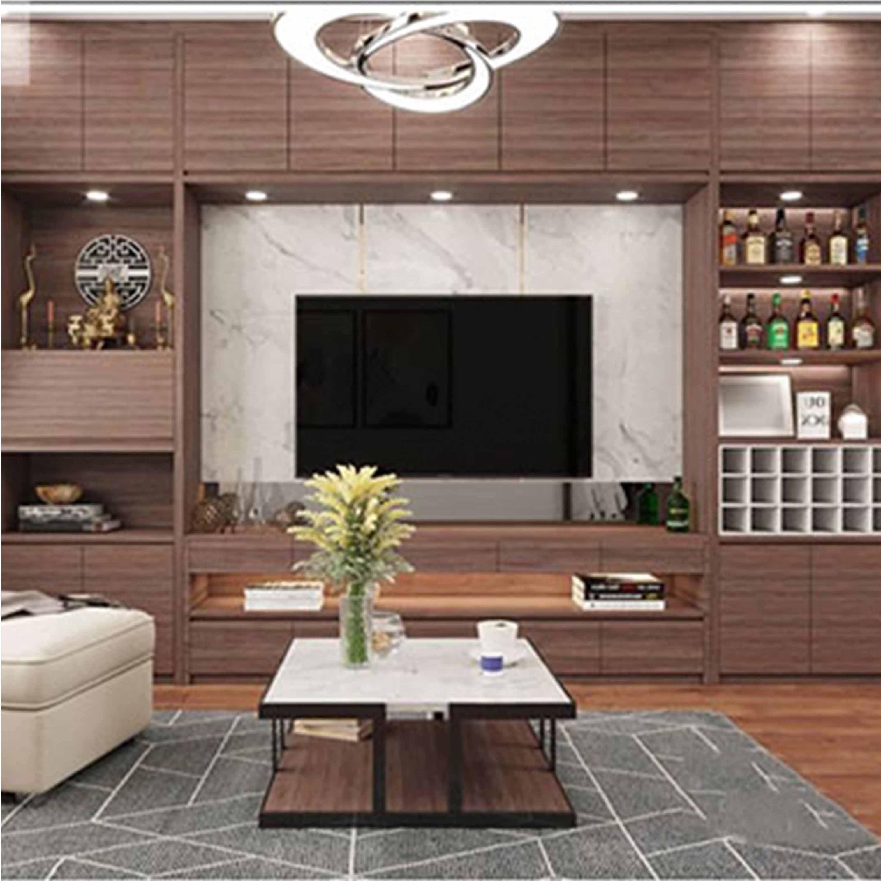 Thiết kế nội thất căn hộ chưng cư tại Thanh Xuân, Hà Nội - TK18LHFU