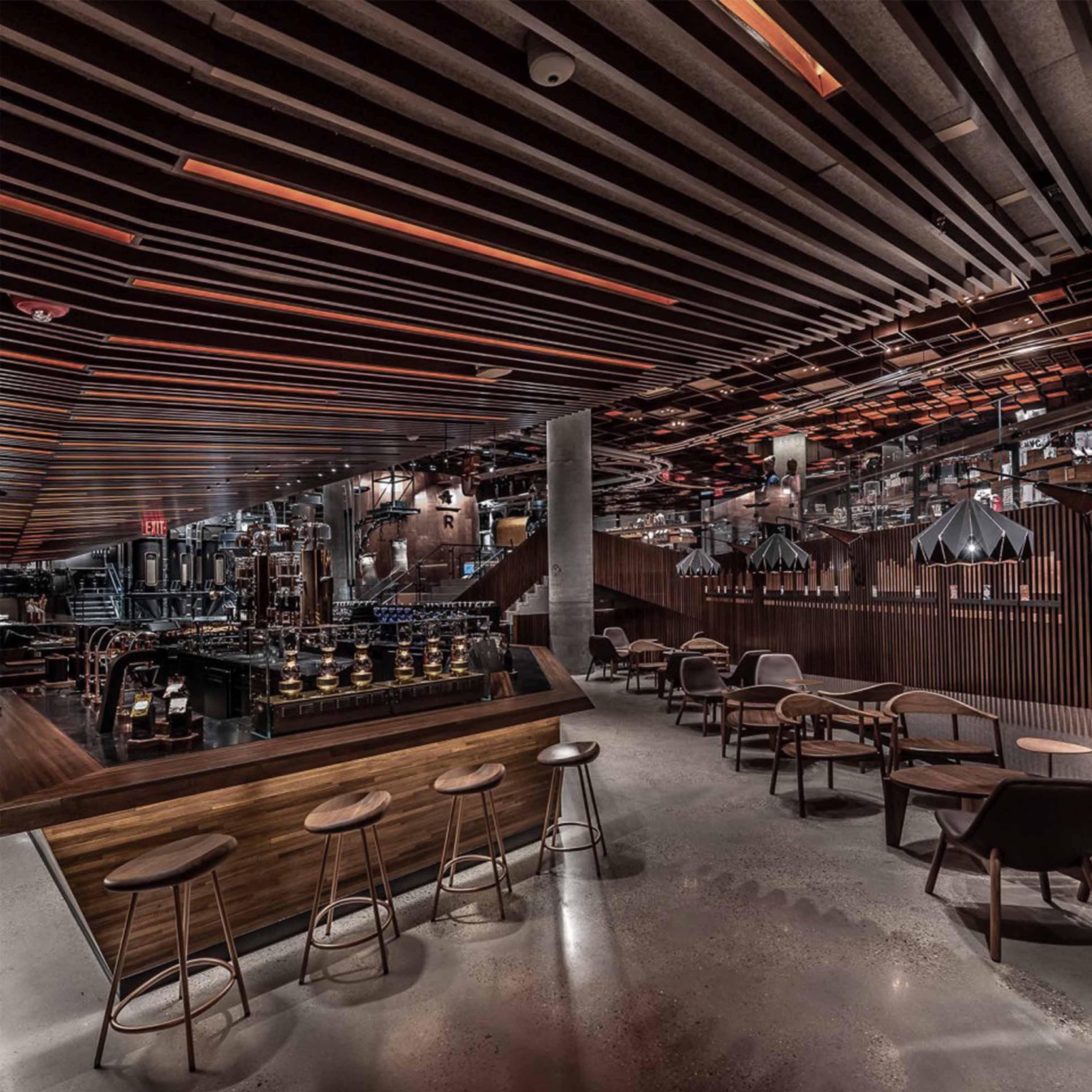 Thiết kế quán cafe theo phong cách Công Nghiệp - TK23LHFU