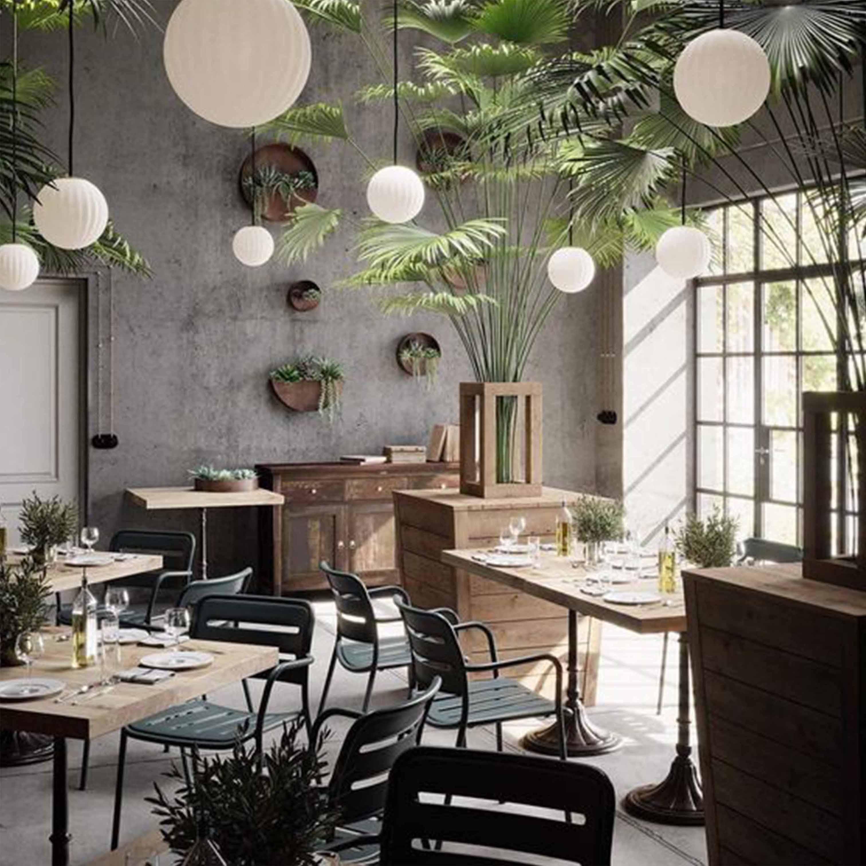 Thiết kế nội thất quán café theo phong cách Tân Cổ Điển - TK25LHFU
