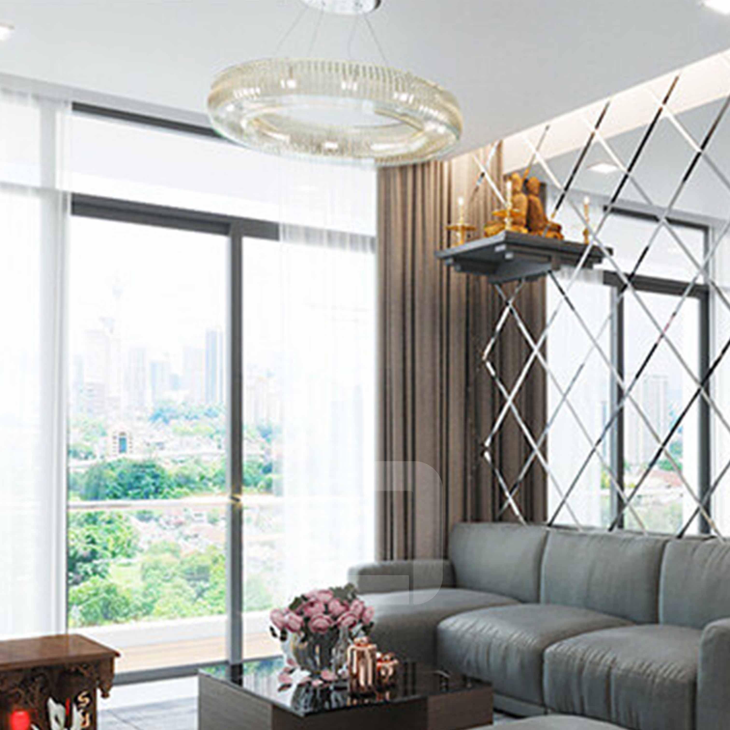 Thiết kế nội thất căn hộ 60m2 chung cư 2 phòng ngủ - TK6LHFU