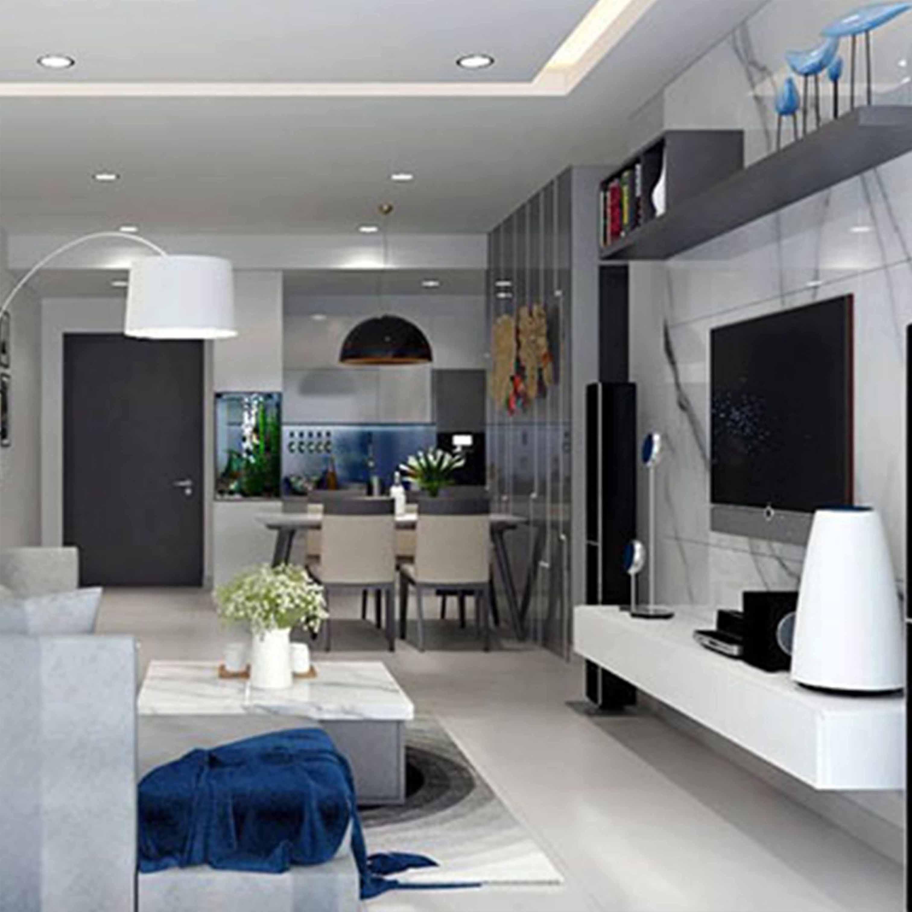 Thiế thất kế nội thất căn hộ chung cư - TK8LHFU